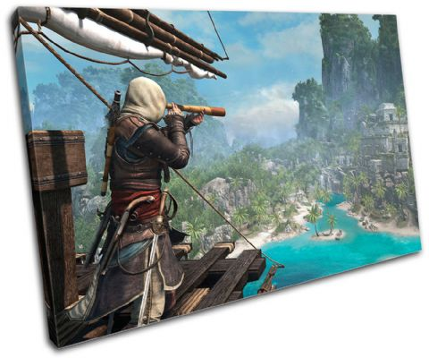 Assasins Creed 4 IV Gaming - 13-1748(00B)-SG32-LO